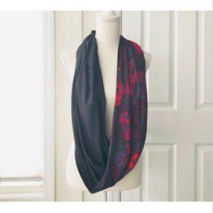 Fabletics Luna Infinity Scarf One Size Floral Wrap